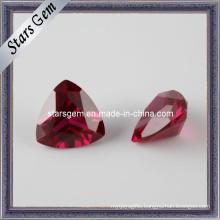 5# Ruby Trilliant Cut Semi-Precious Stone