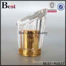 New design perfume luxury golden cap, high quality perfume covers