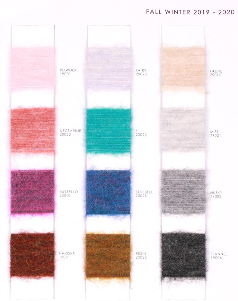 brush yarn fancy