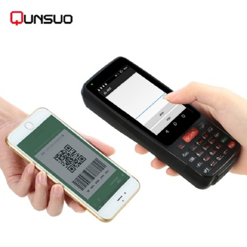 Android Smart Card Reader Barcode-Scanner PDA