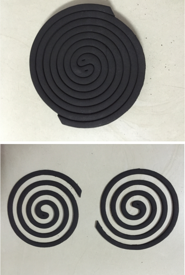 Livestock mosquito coil Direction 1