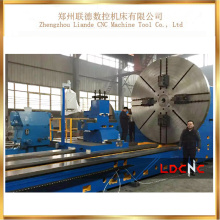 C61500 haute qualité professionnelle horizontale lourde tour prix de la machine