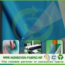 Laminated Nonwoven Fabric, (PP+PE) Laminated for Hospital Bedsheet