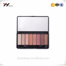 Maquillage Custommized Mirror Eyeshadow Palette boîte de haute qualité