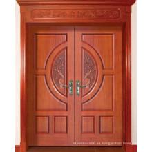 Puerta de madera (HDF-002)