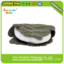 3,2 * 2 * 2 cm 3d Spring Roll Shaped Eraser
