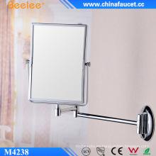Espejo retráctil cosmético montado en la pared al por mayor de la mujer elegante
