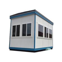 Cabina de caja de tráfico de sala de boleto de centinela móvil de pequeño tamaño popular de la casa de guardia