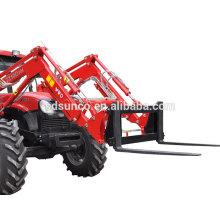 fourche de palette de chargeur frontal de tracteur