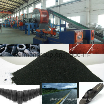 Tire Recycling Line 500-1000kg/H