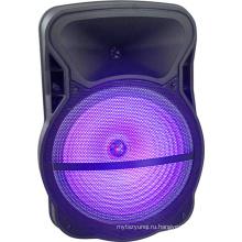 15-дюймовые беспроводные звуковые системы Портативный аккумуляторная тележка Динамик Активная акустическая система Cx-15D