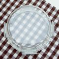 easylock factory wholesale glass jar with plastic lid