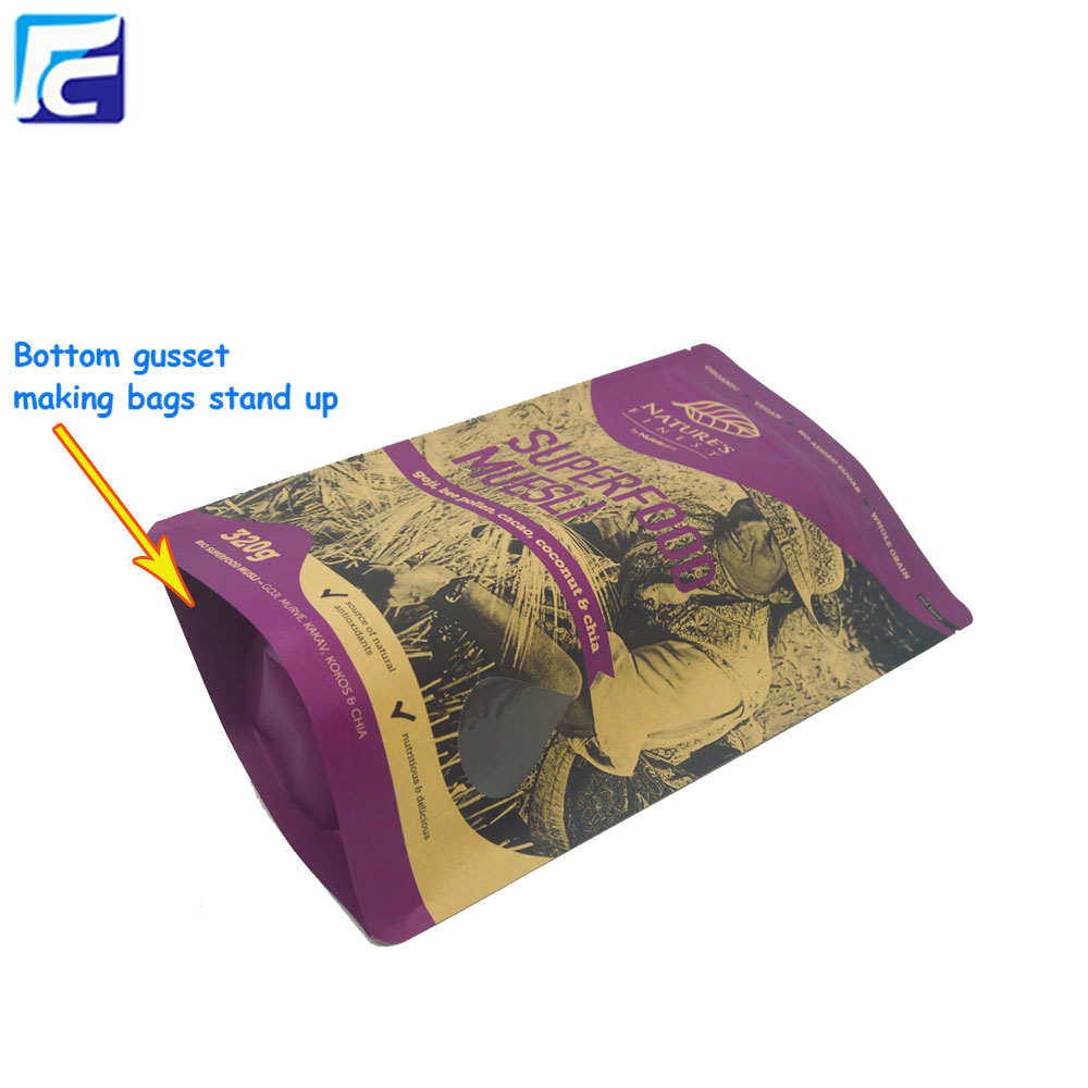 Food Grade Kraft Paper Bag Flour