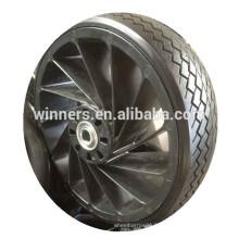 12 pouces en caoutchouc solide chariot roue pneus en caoutchouc solide