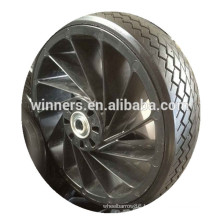 12 inch solid rubber cart wheel solid rubber tires