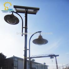 Main Road solar gate post pillar light