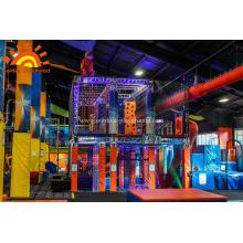 Indoor Ninja Warrior Gym для взрослых