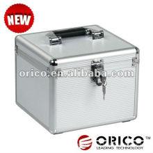 "ORICO 10bay 3.5 ""caso de alumínio HDD, caixa de proteção HDD, HDD Estojo externo, protetor HDD, caixa de armazenamento HDD,"