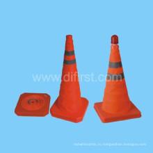 Привет - Vis Оранжевый Светоотражающий Безопасности Дорожного Движения Конус