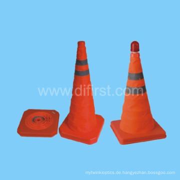 Hi-Vis Fluorescent Orange Straßensicherheit Verkehrskegel