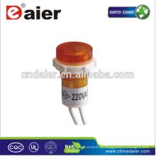 Daier PL1604W âmbar LED lâmpadas indicadoras