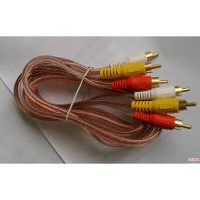 Rg 6 коаксиальный кабель / готовый продукт