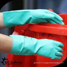SRSAFETY промышленные анти-масляные и противохимические перчатки / промышленные перчатки