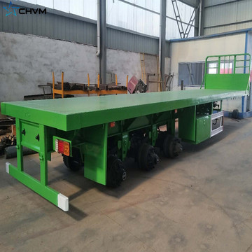 Transport Heavy Goods Trailer Chassis Semi-remorque surbaissée