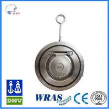 High quality dh77x-10/16 wafer butterfly check valve