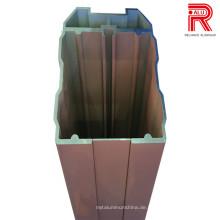 Aluminium / Aluminium-Extrusionsprofile für Leroy Merlin Baustoffe