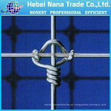 aseguramiento del comercio junta de la bisagra de alambre de nudo fijo valla de campo alambre de cerca de 8 pies (fabricación)