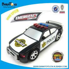 Police kids electric toys car