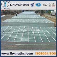 Reja de la barra de acero de piso galvanizado para planta de energía