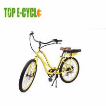 High quality pedelec electric beach bike electric sand bicycle