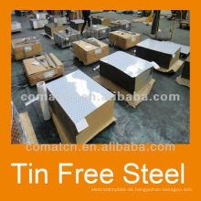 (TFS) Zinn Stahl für Kronenkorken aus China