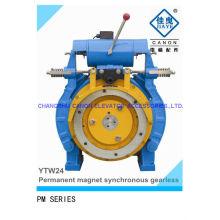 Permanentmagnet synchron getriebelose Aufzugskomponenten