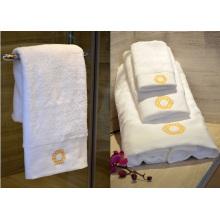 Hotel Special 100% Baumwolle weißes Gesicht Handtuch