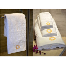 Hotel Special 100% Cotton White Face Towel