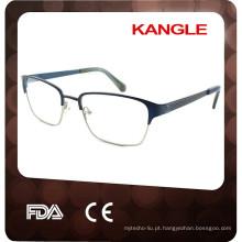 2015 Wholesale Fashion Men Eyewear metal Eyeglass Frame Factory