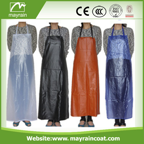 Soft PVC Fabric Adult Apron