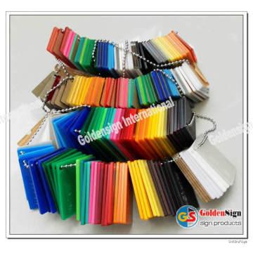 Cast Acryl Sheet Hersteller (Heiße Dicke für 2mm-20mm)
