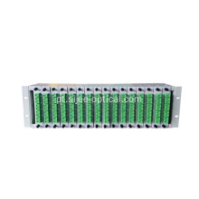Fiber Optic Distribution Frame PLC Splitter ODF