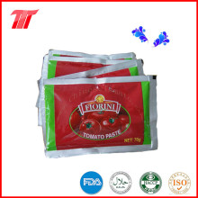 Pasta de tomate 70g Sachet de la fábrica china de pasta de tomate