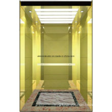 Passenger Elevator Lift Mirror Etched Mr & Mrl Aksen Hl-X-055
