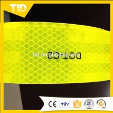 Fluorescent Yellow DOT-C2 Reflective Tape