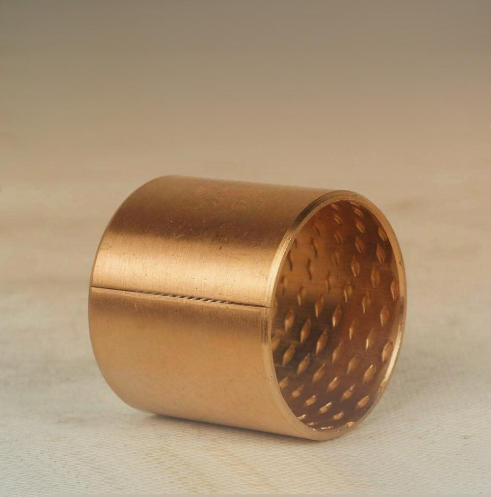 Customized Turning Bronze Copper Brass Bearing Bushing Parts