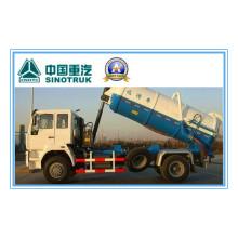 266HP Sinotruk HOWO 4X2 Sewage Suction Truck Zz1167m4611W