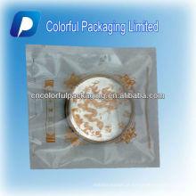 Venda quente de Três Lados Seal Limpar Transparente De Plástico Lua Bolo / Assado Bolo Bag / Bolsa Com Imagem Tema
