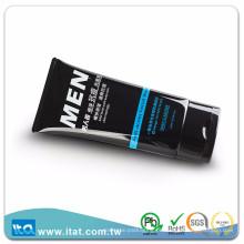 Tubo macio de plástico flexível para embalagem facial para limpeza de corpo
