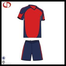 Billig Großhandel Polyester Fußball Uniform Herren Uniform